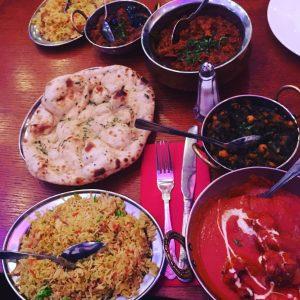 Curry at Brick Lane